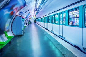 photo Metro station Paris